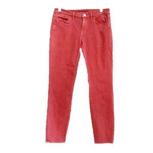 Madewell Skinny Skinny Ankle Jeans Paprika Sz 28